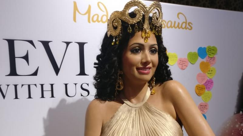 Madame Tussauds Unveils The Sridevi Wax Statue And Its Drop-Dead Gorgeous!