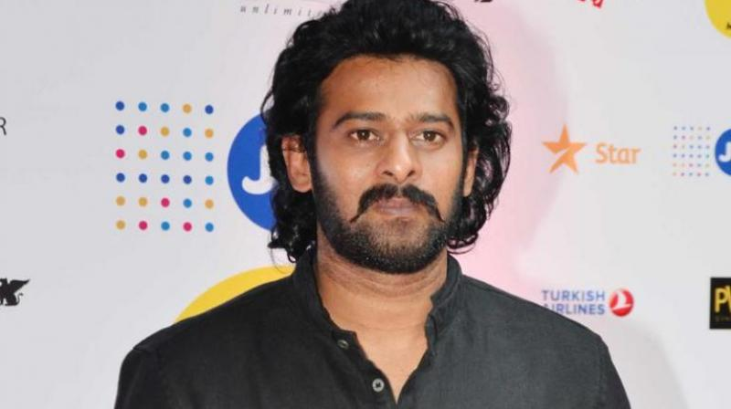 Prabhas will next be seen in 'Saaho.'
