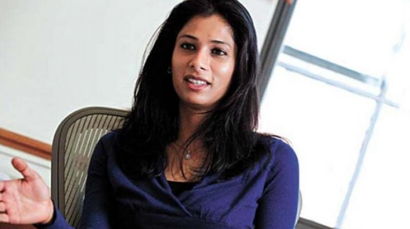Gita Gopinath the first woman to occupy the top IMF post.