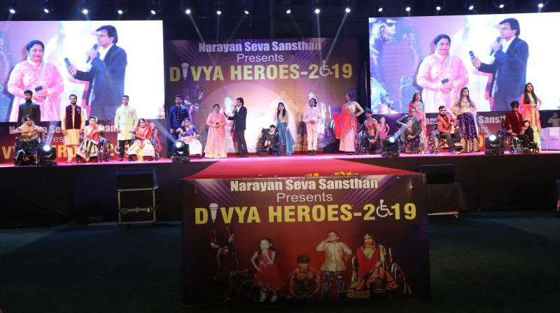 Narayan Seva Sansthan hosted Divya Heroes 2019- Divyang Talent & fashion Show at JVPD ground in Mumbai.