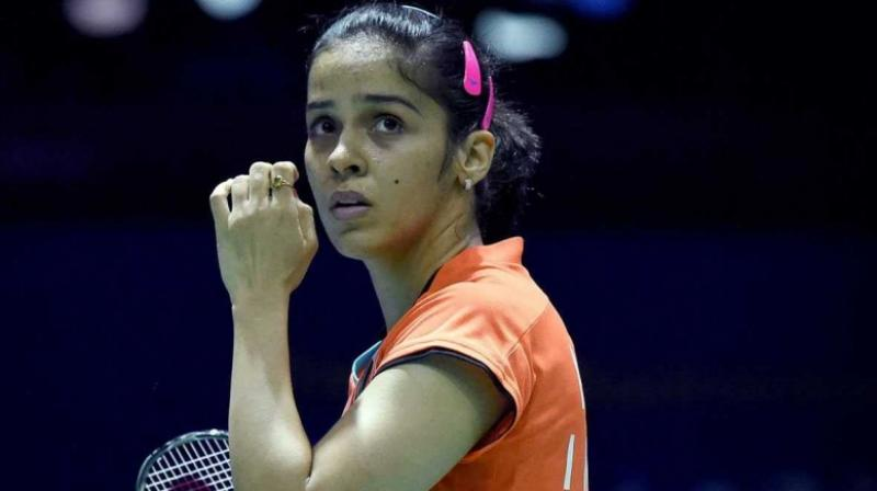 Nehwal had made a strong return to the badminton court on Wednesday as she registered a straight-game win over Thailand's Phittayaporn Chaiwan. (Photo: AFP)
