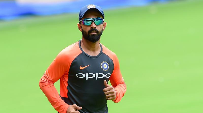 Chief selector M.S.K. Prasad recently said Rahane was still part of India's World Cup plans and the cricketer is not giving up yet. (Photo: PTI)