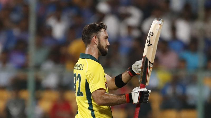 India v Australia: Magnificent Glenn Maxwell century seals Twenty20 series win