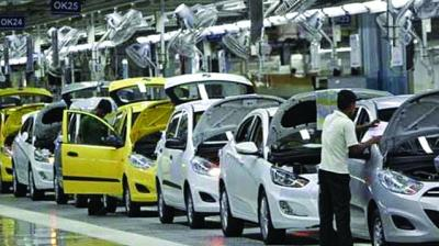 Sales of commercial vehicles were down 23.31 per cent at 66,773 units in October, Siam said.