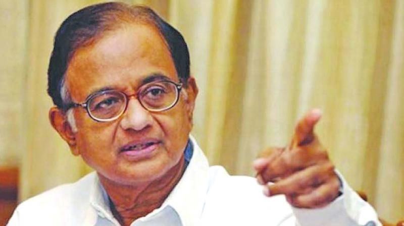 The senior Congress leader's counsel told Justice Suresh Kait that the prosecution's complaint (charge sheet) has not been filed by the Enforcement Directorate (ED) in the court and how can Chidambaram influence witnesses, when he does not know them. (Photo: File)