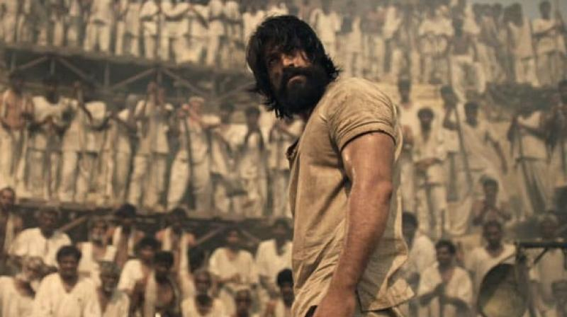 A still from KGF