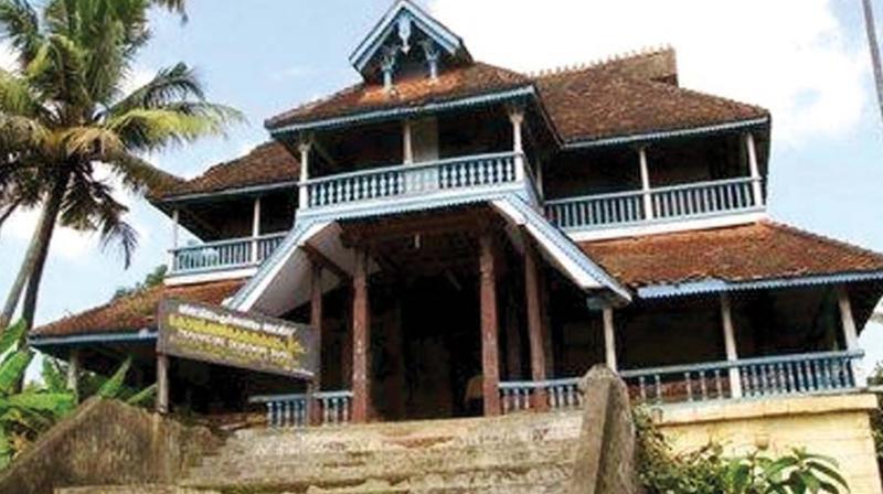 Koyikkal Palace Fades Into History