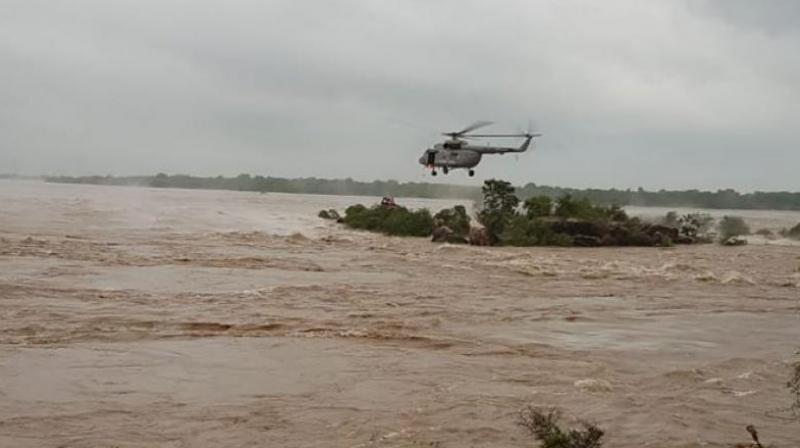 IAF-Uttar Pradesh-Floods-2018-Rescue