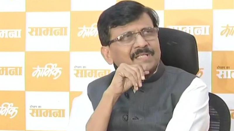 Raut reiterated that the chief minister would be from the Shiv Sena only. (Photo: ANI)