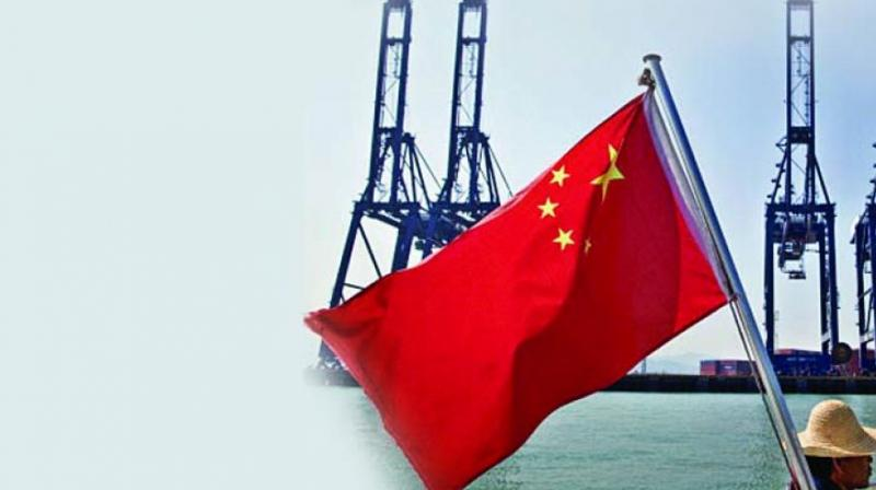 Customs earlier gave the figure in yuan terms, showing a 3.2 per cent drop in exports and a 3.2 per cent increase in imports on-year.