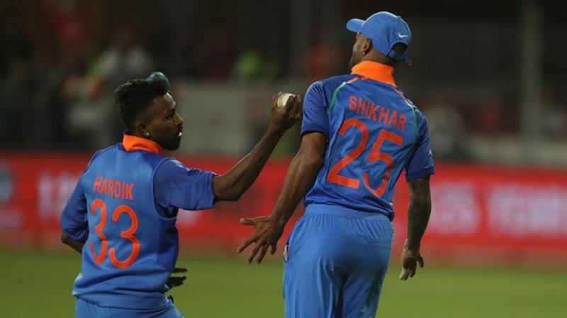 Amidst the celebration, Pandya was seen cajoling the southpaw, saying the catch belonged to him. (Photo: BCCI)