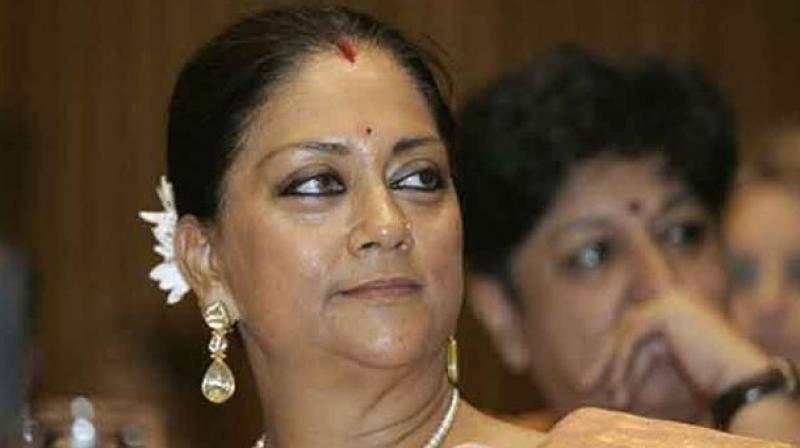 In Rajasthan, there are visible signs of anti-incumbency against the Vasundhara Raje Scindia government, but the Congress needs a bigger swing in its favour to defeat the BJP. (Photo: PTI)