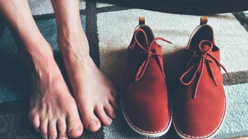 Standing or sitting for long hours causes swollen feet. (Photo: Representational/Pexels)