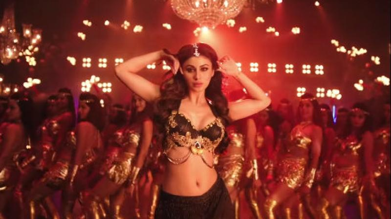 Mouni Roy in the special song from KGF. (YouTube Screengrab/T-Series)