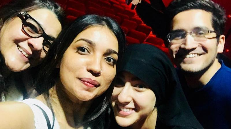 Kedarnath This Is How Sara Ali Khan Sneaked In Theatre To Watch Her