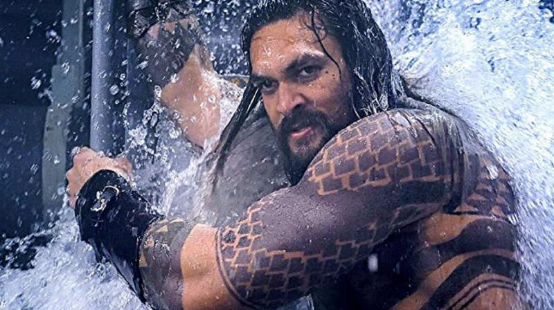 Jason Momoa in the still from Aquaman. The film is the sixth installment in the DC Extended Universe (DCEU). (Picture Courtesy: Warner Bros. Pictures)