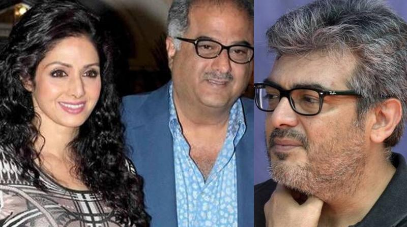 Ajith is playing the lead in Tamil film which is a remake of Hindi film Pink and is being produced by Boney Kapoor.