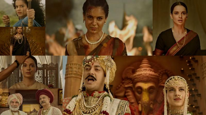Kangana Ranaut is her fierce self in the Manikarnika trailer