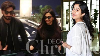 Hrithik Roshan and family, Sonakshi Sinha, Janhvi Kapoor, Deepika and Ranveer were spotted at the Mumbai airport. Check out the latest pictures of Bollywood stars. (Pictures: Viral Bhayani)