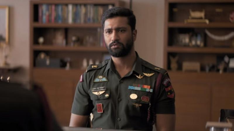 Vicky Kaushal in the still from URI.