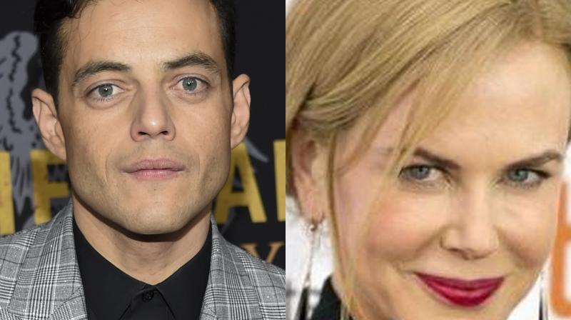 Rami Malek and Nicole Kidman.