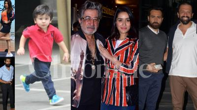Bollywood stars Jacqueline Fernandez, Shraddha Kapoor, Rana Daggubati, Emraan Hashmi and others were spotted in the city. (Pictures: Viral Bhayani)