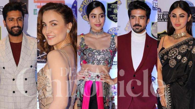 Photos: Vicky, Mouni, Janhvi and others glam up at Lions