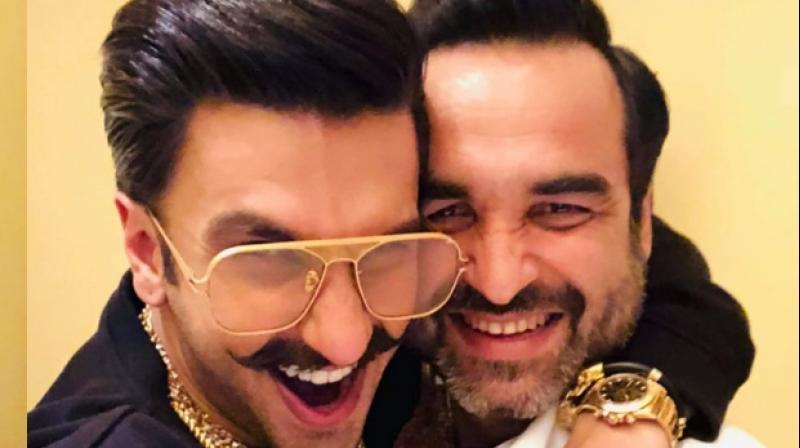 Ranveer Singh and Pankaj Tripathi.