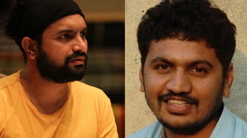 Hitesh Modak (L) and Bollywood director Eshwar Niwas (R).