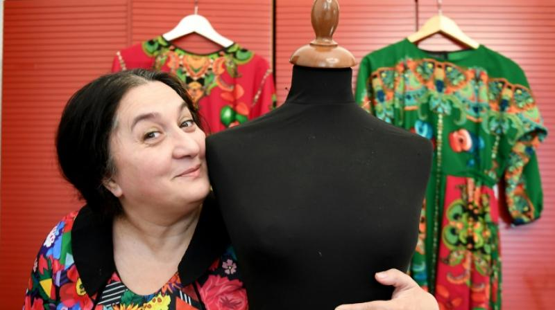 Hunagrian designer Erika Varga is smashing stereotypes and empowering the Roma community through her clothes. (Photo:AFP)
