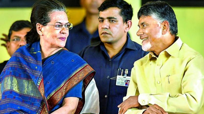 Sonia Gandhi has also invited leaders of the UPA and sounded some others including Odisha and Telangana chief ministers Naveen Pattnaik and K Chandrasekhar Rao respectively. (Photo: PTI)