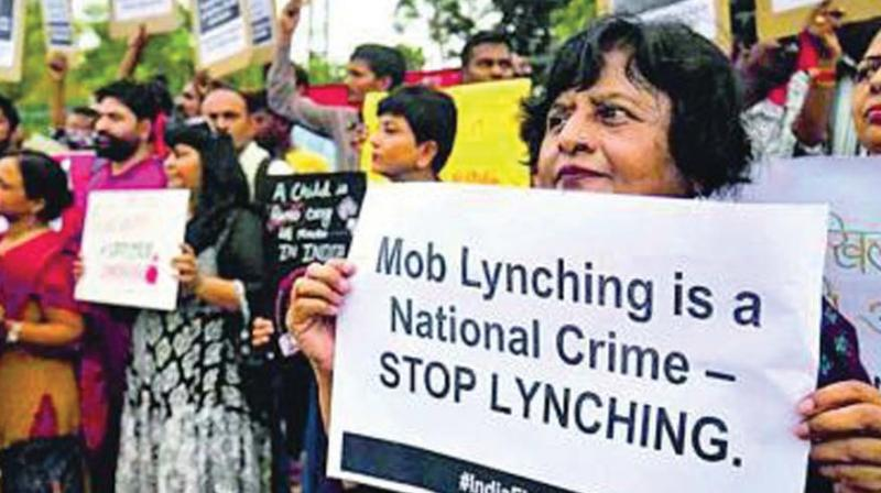 The resolution demanded an immediate end to mob lynching incidents.