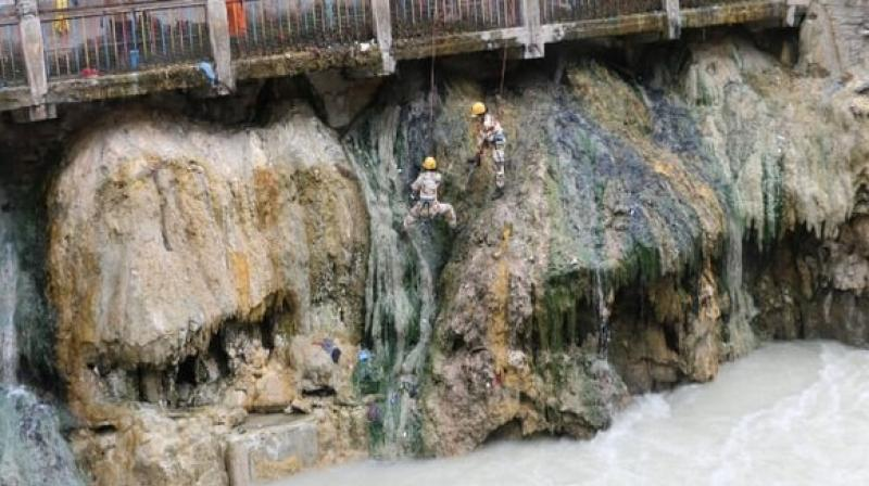 This year's Char Dham yatra started with the opening of portals of Gangotri and Yamunotri shrines on May 7.  (Photo: ANI)