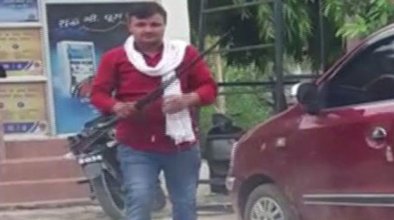 The police said that a thorough investigation will be carried out in the matter and action will be taken against the man if found guilty.  (Photo: ANI)