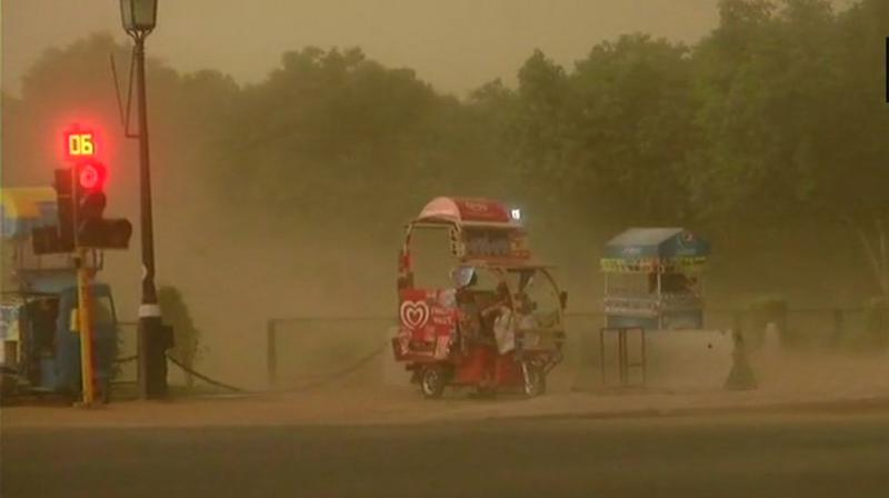 Dust storms hit Uttar Pradesh on Wednesday evening. (Photo: Representational/ANI)