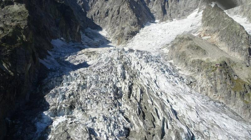 Mont Blanc: Italian Alpine glacier close to collapse, officials warn