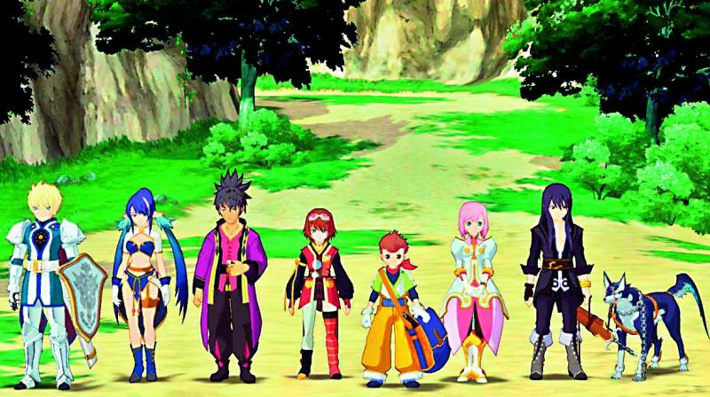 Tales of Vesperia: Definitive Edition is an excellent RPG with a lot of focus on combat, skills and equipment management as well as character interaction.