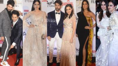 Bollywood stars turned up in their stylish best at the Filmfare Style and Glamour Awards held in Mumbai late Friday. (Photo: Viral Bhayani)