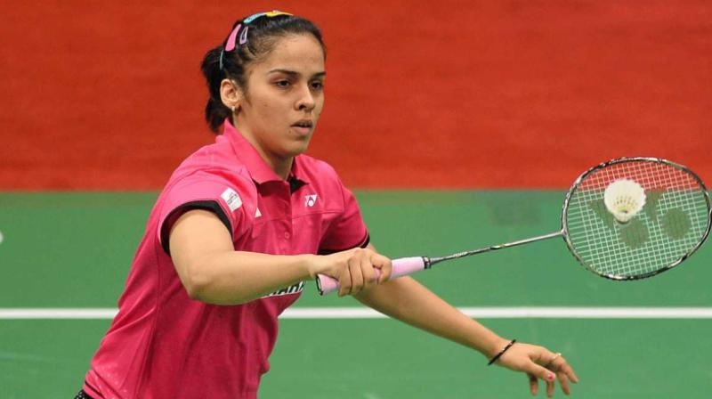 Saina Nehwal defeated PV Sindhu 21-17, 27-25 in the final. (Photo: AFP)