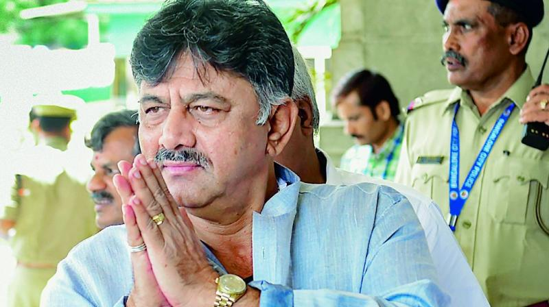 Shivakumar has been chased by the Income Tax Department and the ED since demonetisation in 2016. (Photo: File)