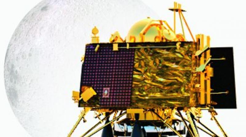 As the powered descent of the lander began at around 1.38 am, scientists at ISRO Telemetry Tracking and Command Network (ISTRAC) here were glued to their terminals, anticipating the soft landing.