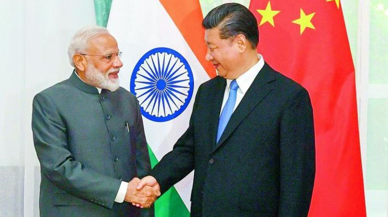 Prime Minister Narendra Modi and Chinese President Xi Jinping (PTI)
