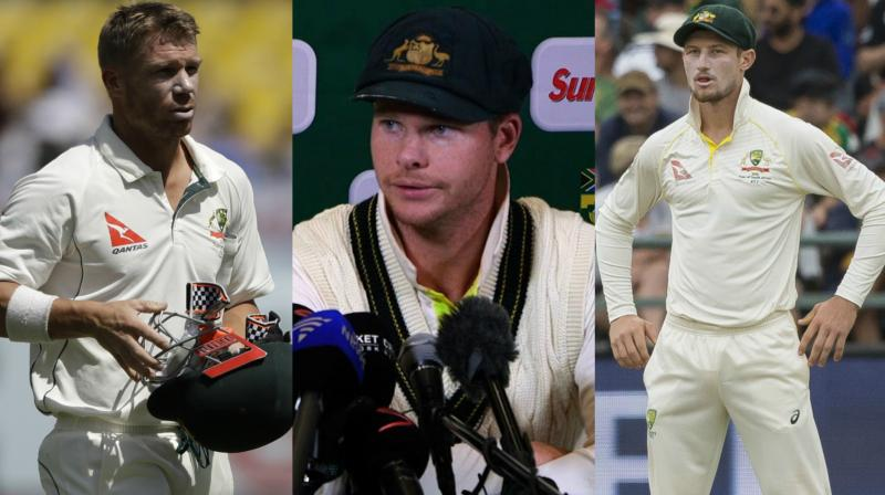 David Saker said that the loss of captain Steve Smith, his deputy David Warner and Cameron Bancroft, all sent home for their part in the ball-tampering scandal in the third Test, has deeply affected the players left behind in Johannesburg. (Photo: AFP / AP)