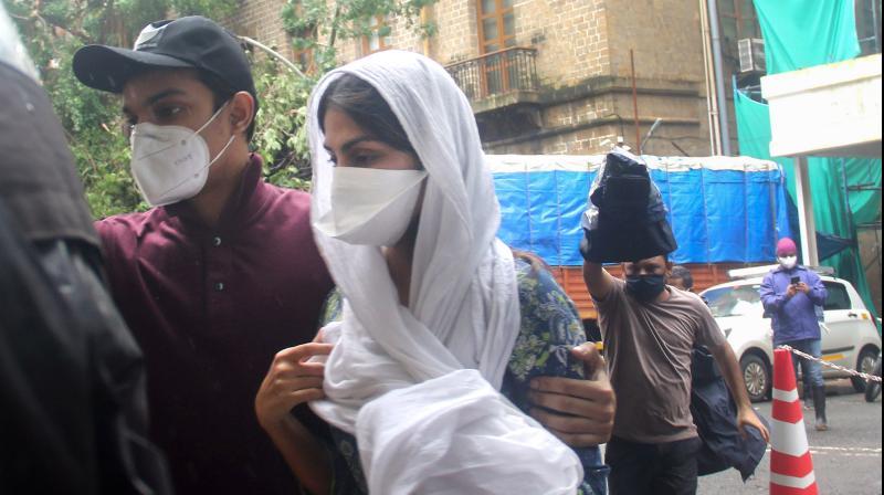 ED grills Rhea Chakraborty in money laundering case