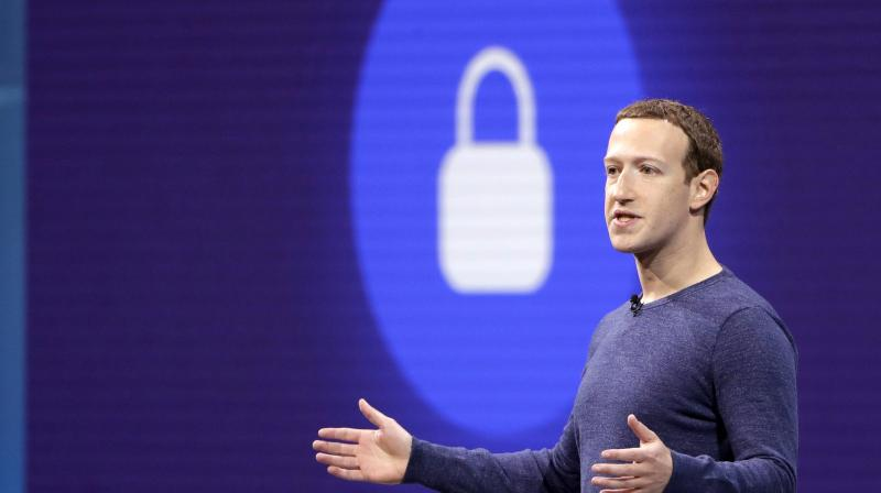 Zuckerberg's plan, outlined Wednesday, expands Facebook's commitment to private messaging, in sharp contrast with his traditional focus on public sharing.