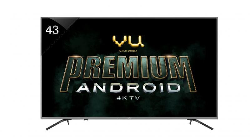 Vu launches premium Android TV range with Dolby Vision, HDR
