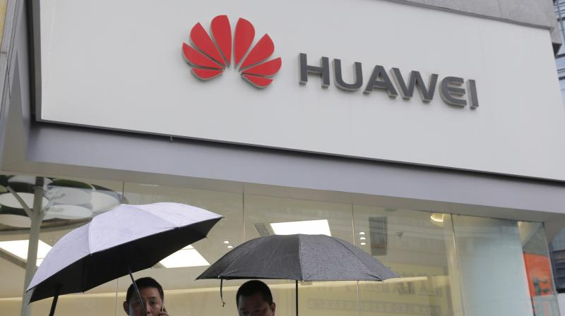 "Chinese Foreign Ministry spokesman Geng Shuang told a news briefing in Beijing on Wednesday that the United States should immediately cease its ""suppression"" of Huawei. (Photo: AP)"