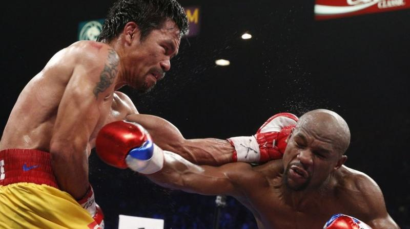 Pacquiao, 38, briefly retired last year before making a successful comeback against Vargas in November, and is juggling boxing with his duties as a senator in the Philippines.(Photo: AFP)