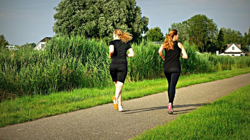 Older women can reduce genetic effects of obesity through exercise. (Photo: Pixabay)