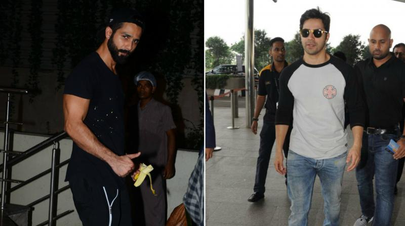 The good looking bollywood actors were spotted at different venues in Mumbai.